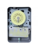 Intermatic T103 - 24 Hr. Dial Time Switch - NEMA 1 Indoor Steel Case - Gray Finish - DPST - 40 Amps - 125 Volt